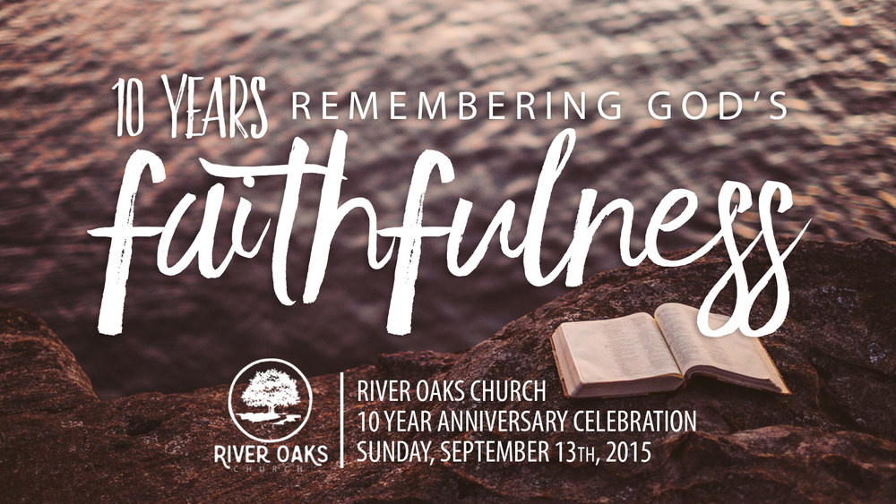 Special Service this Sunday. Come Early for fellowship, Strite's donuts and Blue Elk Coffee