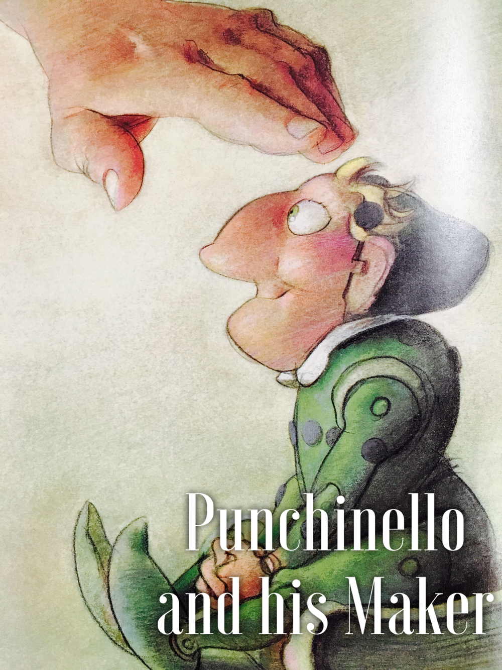 We'll hear Punchinello's story of overcoming condemning words.