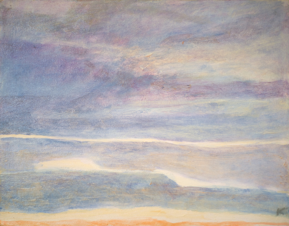 Horizons #8  oil on canvas 12in x 14in