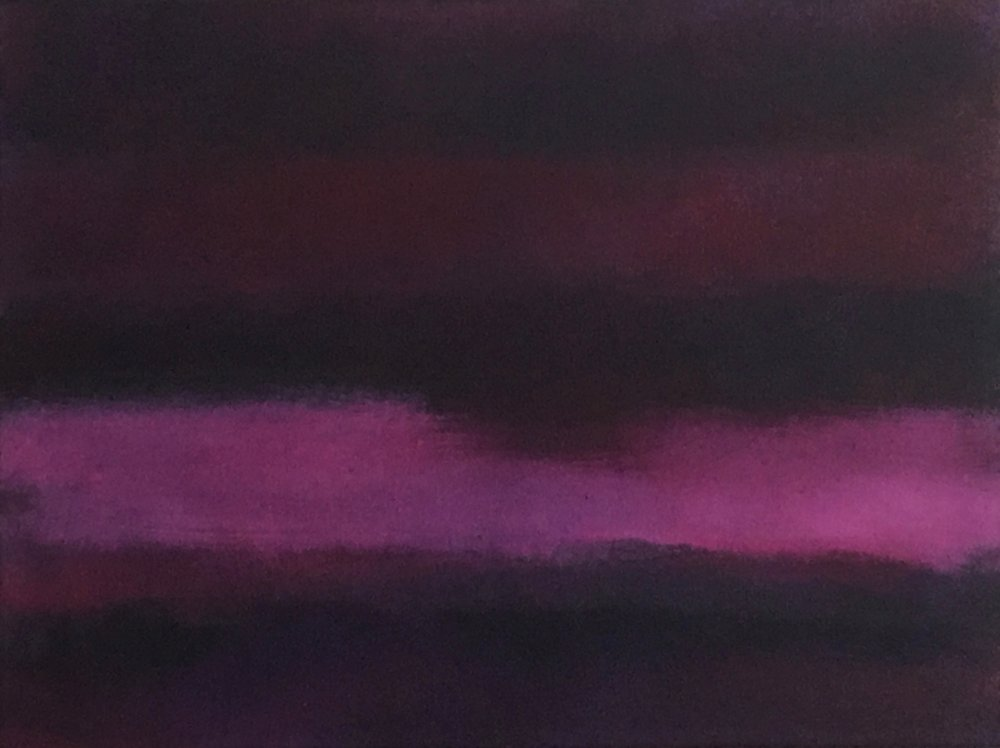 "Nocturne # X  oil on canvas 24""x 18"" ( 61 x 45.7 cm ) 2018"