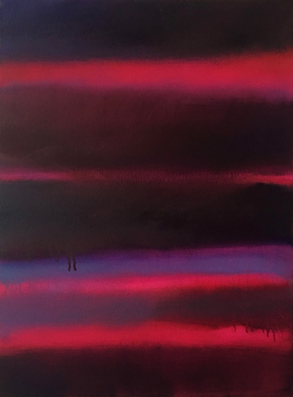 "Nocturne # XIII  oil on canvas 24""x 18"" ( 61 x 45.7 cm ) 2018"
