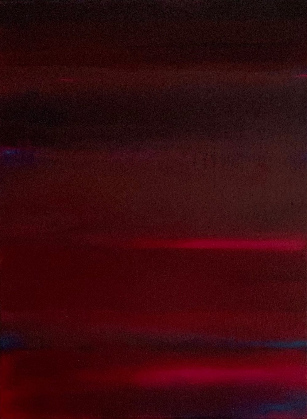"Nocturne # XIV  oil on canvas 24""x 18"" ( 61 x 45.7 cm ) 2018"