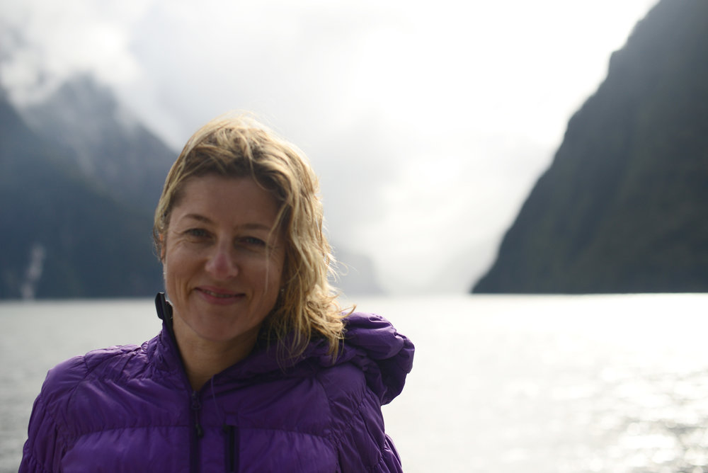 The last pic Matt ever took of me, at Milford Sound last March.