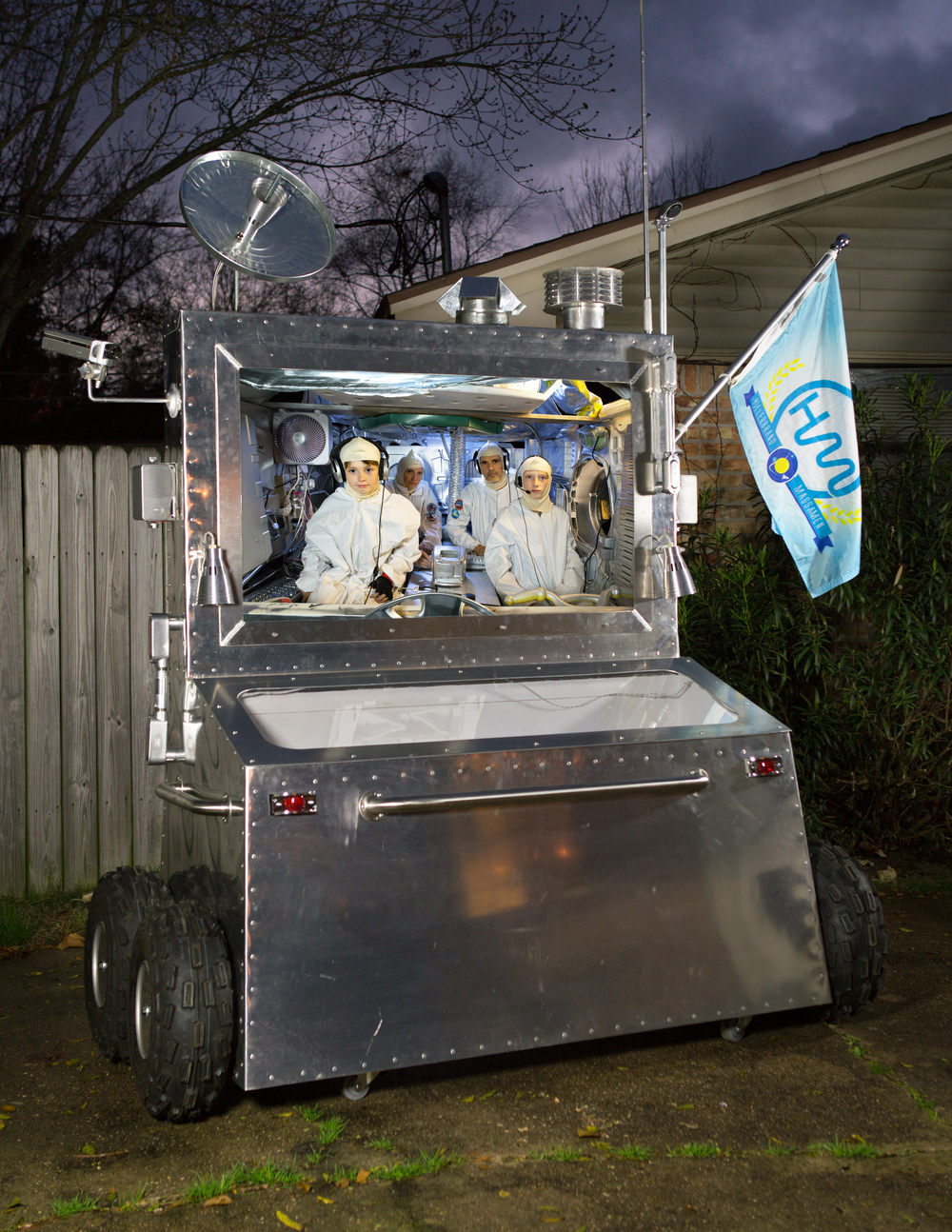 Space Rover that was created to house the video for the Houston Airport.
