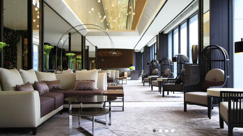 Lobby on 21/F Photo via Solaria Hotel web