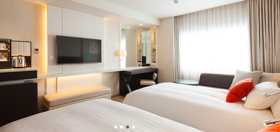 Sample of a double room Photo via Solaria Hotel web