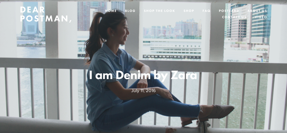 I am Denim by Zara