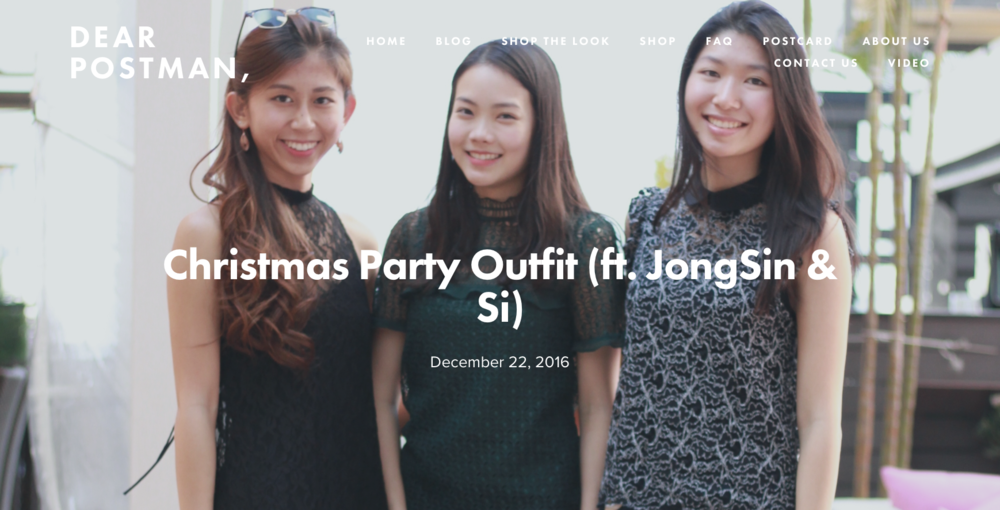 Christmas Party Outfit (ft. JongSin & Si)
