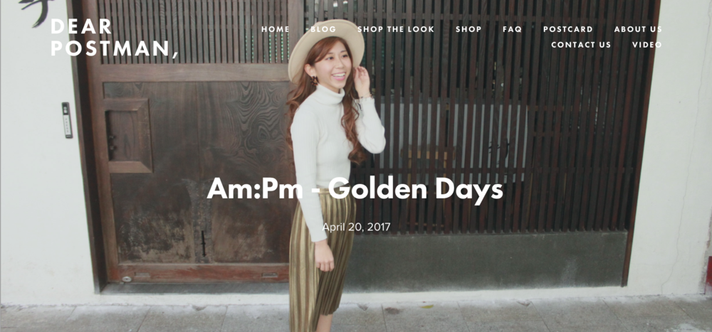 Am:Pm - Golden Days