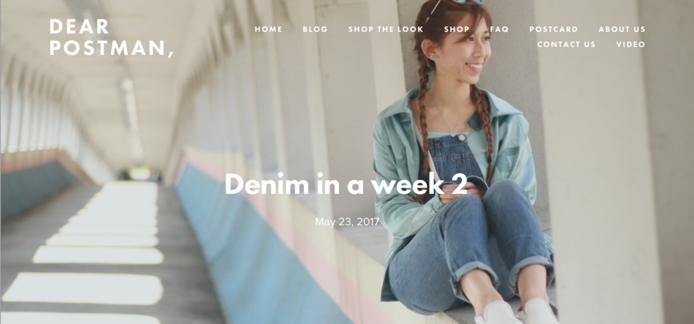Denim in a week 2