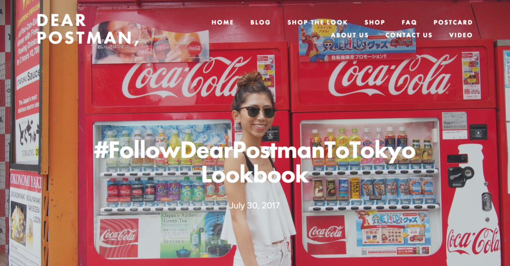 #FollowDearPostmanToTokyo Lookbook