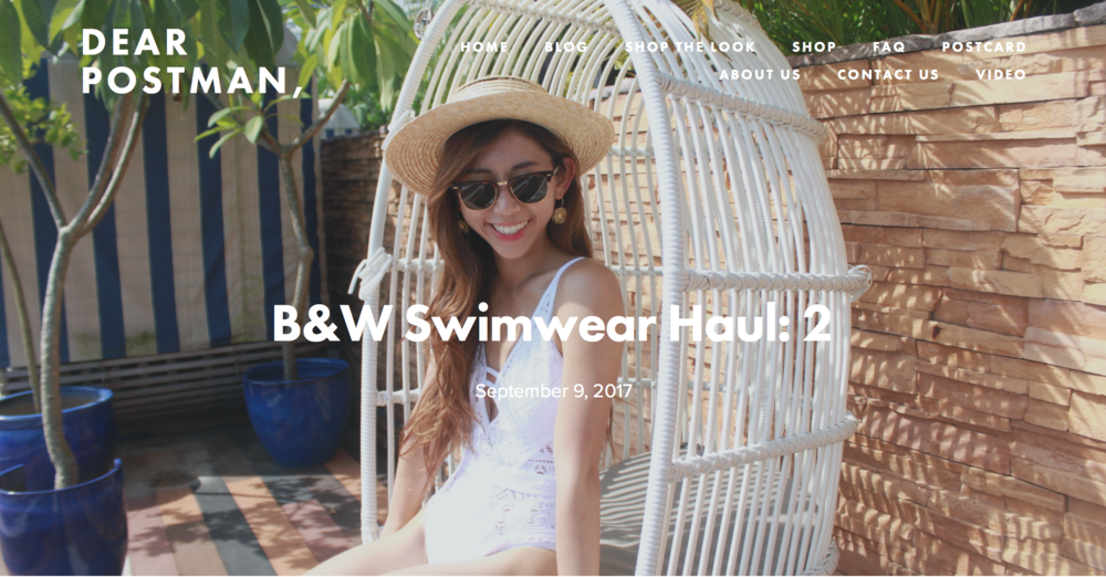 B&W Swimwear Haul: 2