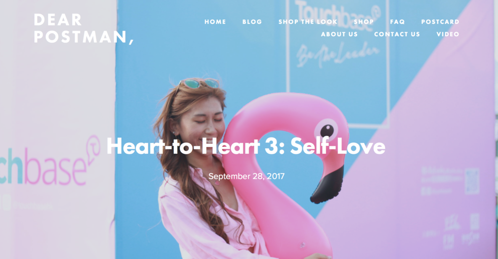 Heart-to-Heart 3: Self-Love