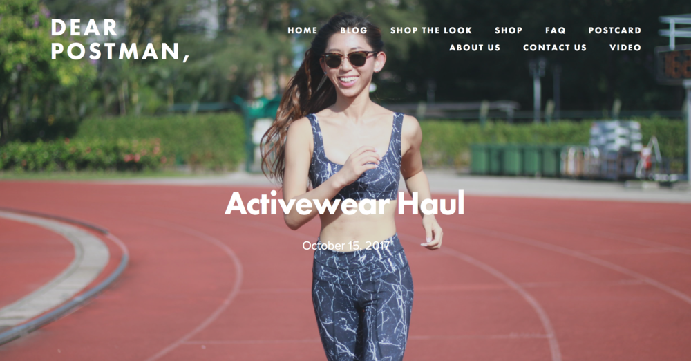 Activewear Haul