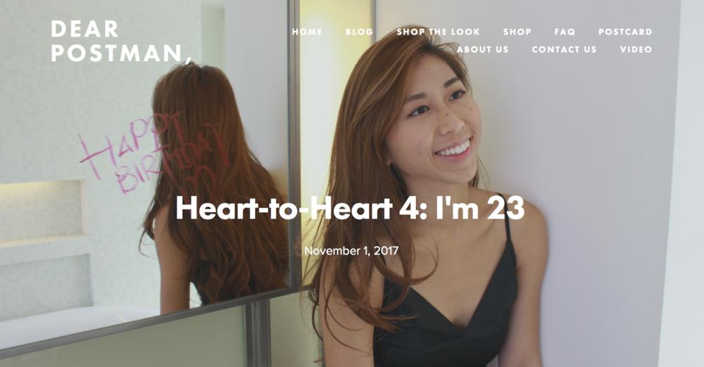 Heart-to-Heart 4: I'm 23