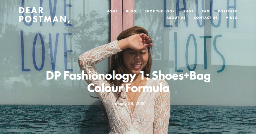 DP Fashionology 1: Shoes+Bag Colour Formula