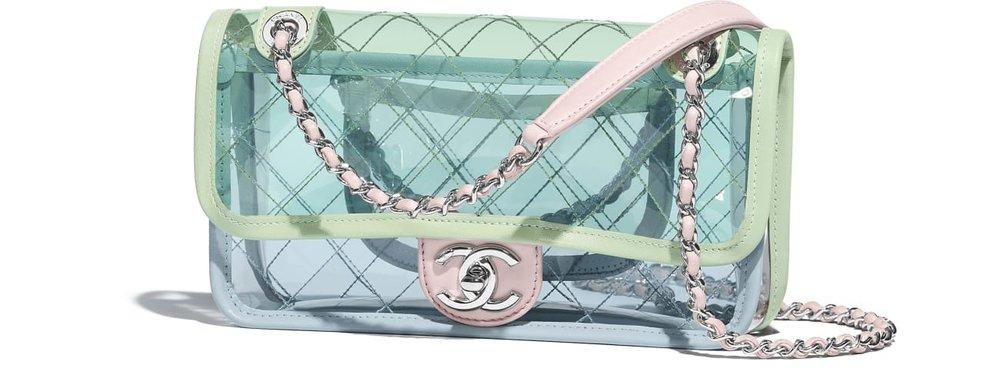 Chanel PVC Flap Bag