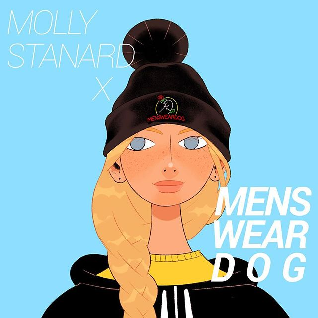 @mollystanard x @mensweardog Spring/Summer collection dropped yesterday! 🌹 Head over to @mensweardog's bio for the store link 🔥 Thanks to everyone for the support and uplifting comments, I'm living for them!! 💌