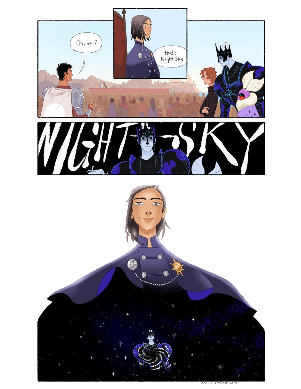 """Introducing: Night Sky"""