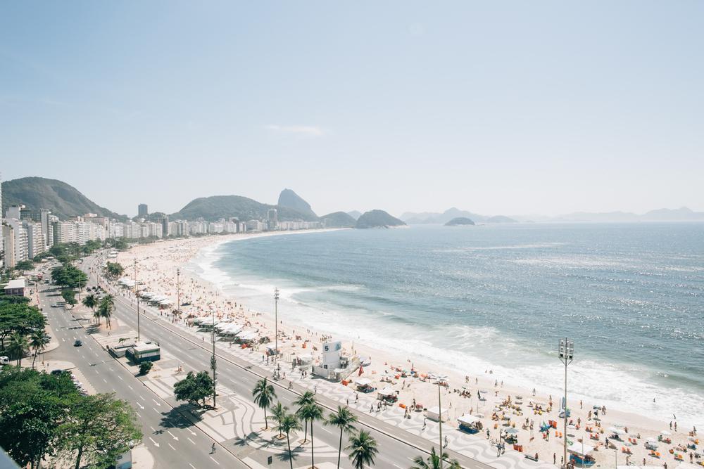 Praia de Copacabana, Rio de Janeiro, Brasil