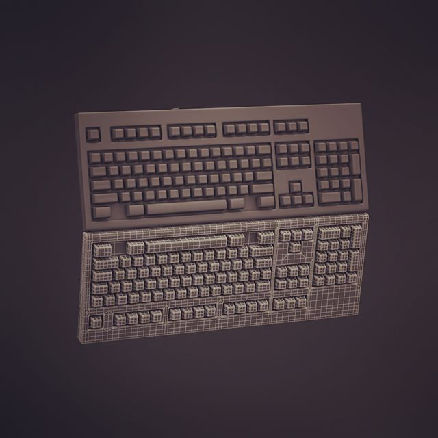 It's in the computer #3dmodel