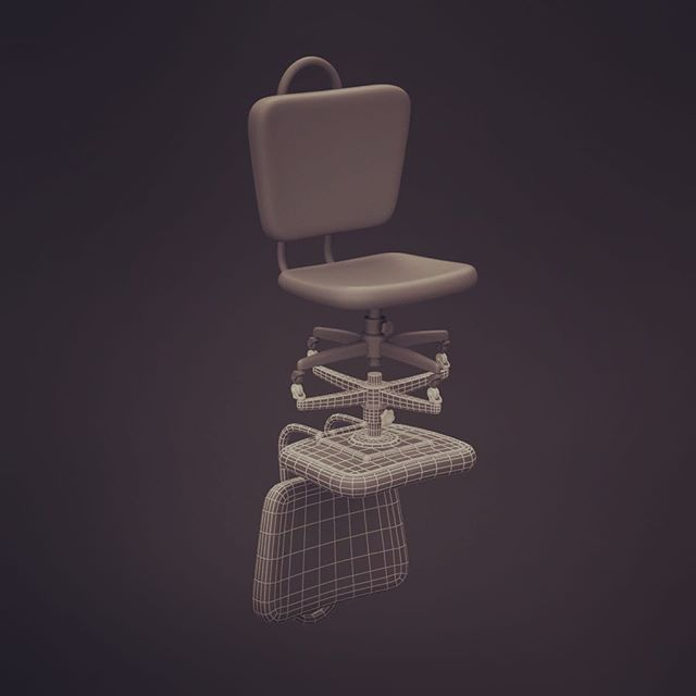 Have a seat #3dmodel
