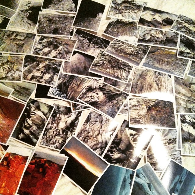 The long slow process of editing for large scale #prints. 500 plus #photographs! #art #landscape #Iceland