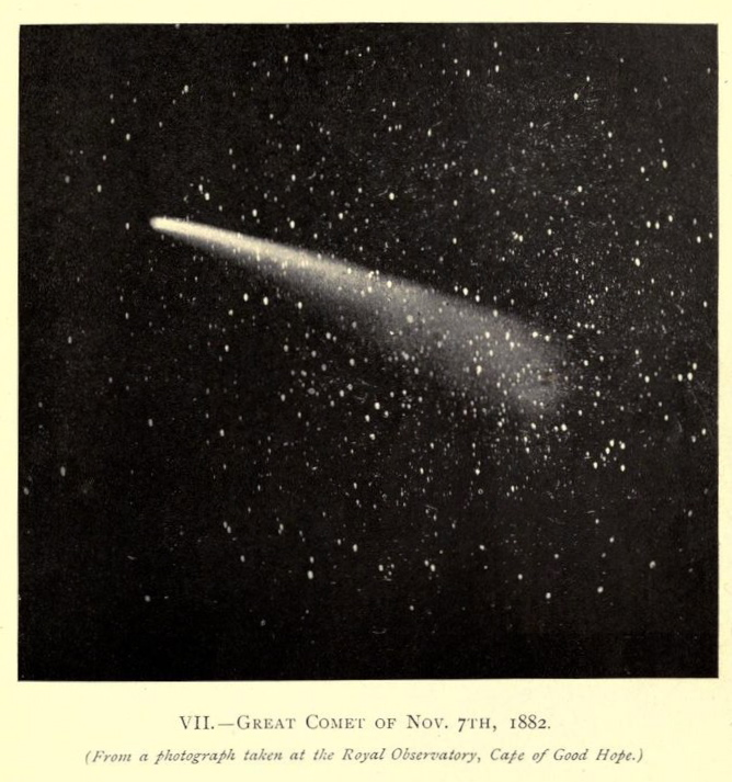 nemfrog :     VII. Great Comet of Nov. 7th, 1882.