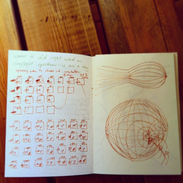 #video and #drawing planning. Things are starting to get complicated. #art #science #symmetry #geometry #landscape #iceland