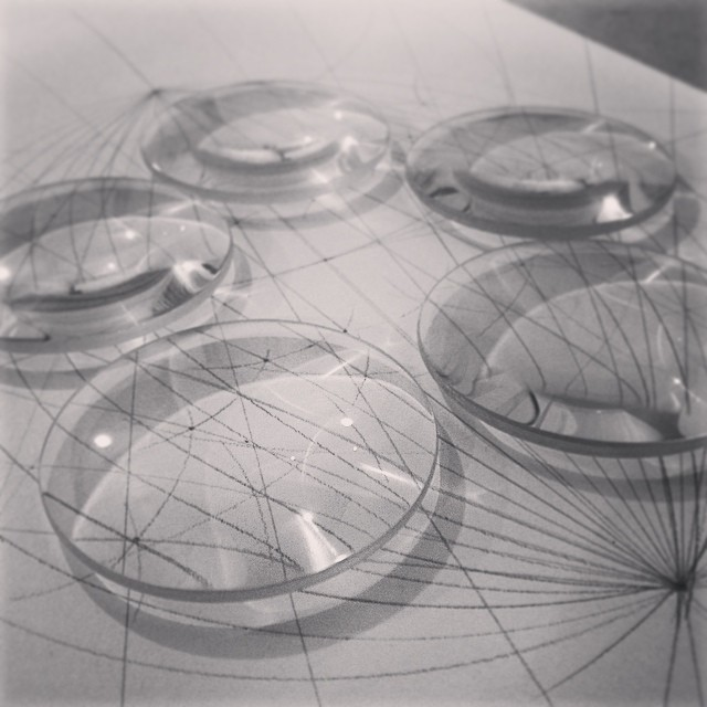 A change in #perspective or #perception? #art #sculpture #science #optics #light #drawing