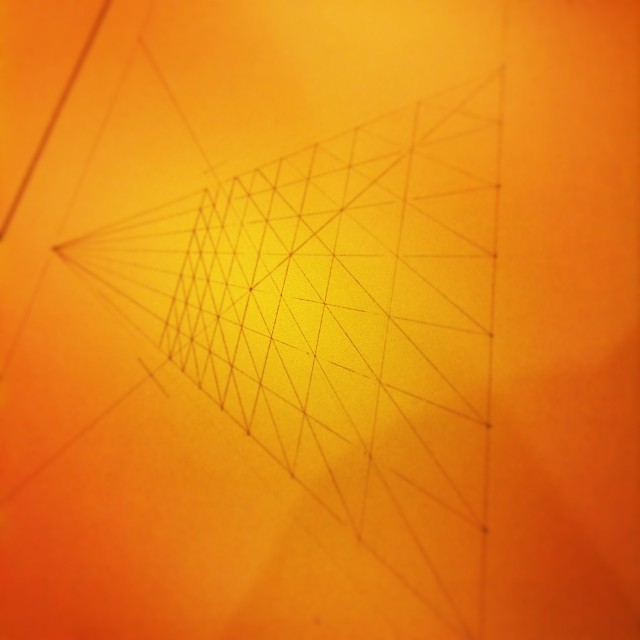All about #perspective today. #drawing #geometry #art #light #reflection #platonicsolids