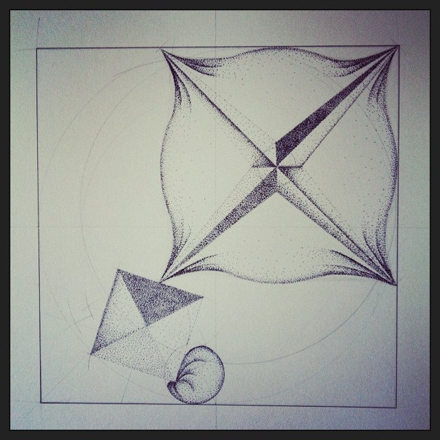 14 hours left to claim the last #drawing of my campaign.  http://www.indiegogo.com/projects/artist-residency-in-Iceland/x/7324897  #art #science #pyramid #sphere #sketch #iceland #heima