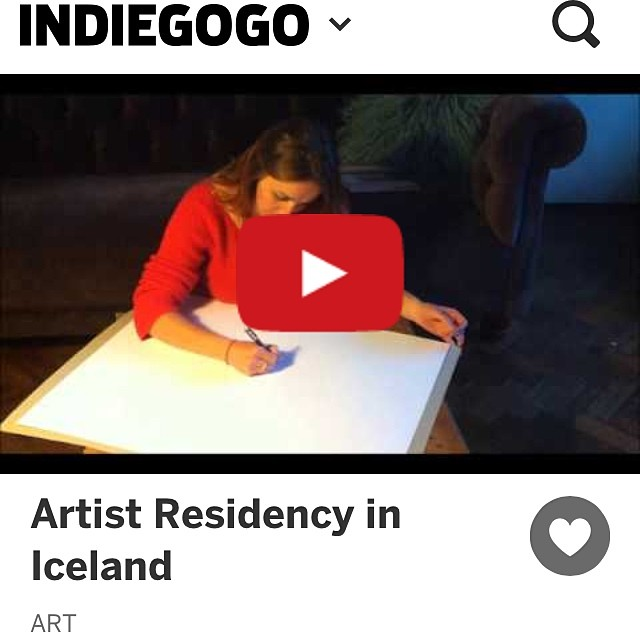 Turning the #aurora into #sound and distilling the fleeting moment of #glacial pops during a year long, epic #journey of #artistic exploration in #Iceland.  www.indiegogo.com/projects/artist-residency-in-Iceland/x/7324897