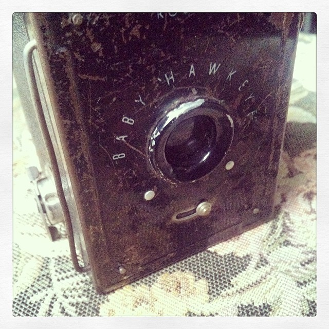 Look at this little beauty which has been donated to the fire and ice kit list. http://www.indiegogo.com/projects/artist-residency-in-Iceland/x/7324897 #photography #camera #kodak #art #sculpture #science #iceland #indiegogo #residency