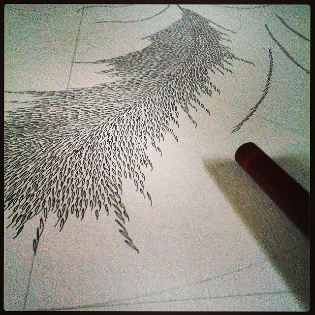 New #drawing begun for my Prince of Whales perks for the fire and ice trip. Join us.  http://www.indiegogo.com/projects/artist-residency-in-Iceland/x/7324897  #art #sculpture #iceland #indiegogo #residency #magnetism #landscape