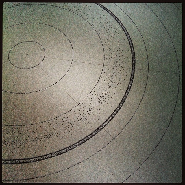 This #drawing is going to take a while! #art #sculpture #science #magnetism