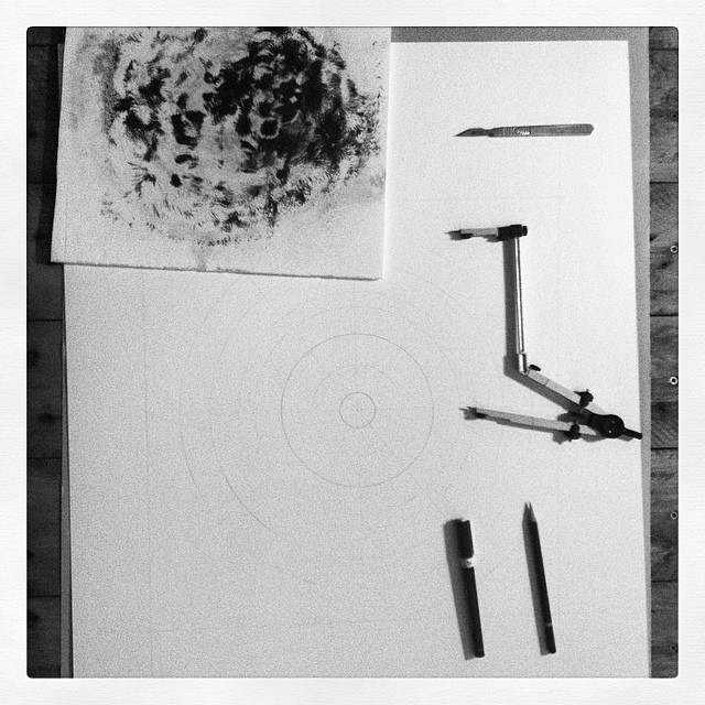 The #magnetic #drawings are going large scale. This calls for a different set up. #sculpture #science #art #studio