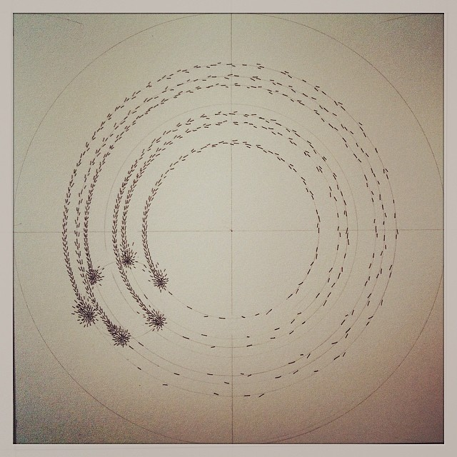 #magnetic #porcelain plans take shape. Watch this space! #art #kineticart #sculpture #science #drawing