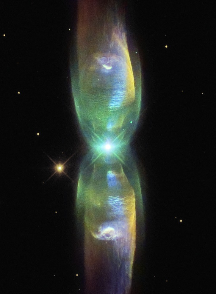 "kenobi-wan-obi :      M2-9:  ""Minkowski's Butterfly""   processing by   Judy Schmidt     Minkowski 2-9, abbreviated M2-9 is a  planetary nebula  that was discovered by Rudolph Minkowski in 1947. It is located about 2,100 light-years away from Earth in the direction of the constellation  Ophiuchus ."