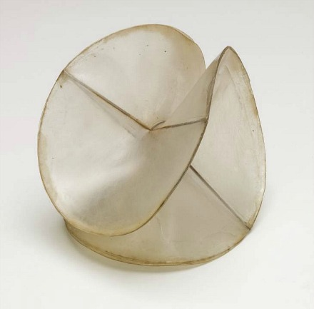 thegiftsoflife :             Naum Gabo,   Model for 'spheric theme'   (1937)