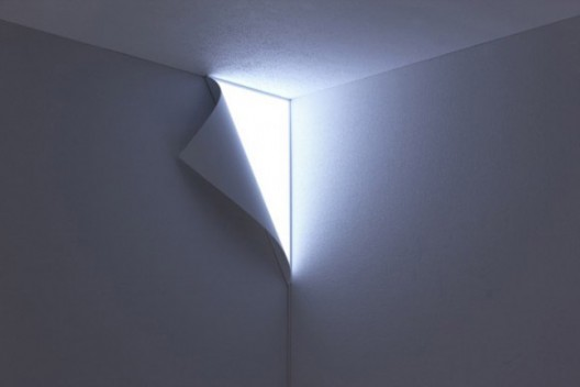whatthecool: Awesome Peel Wall Lamp by space designer Naoki Ono and product designer Yuuki Yamamoto of YOY.