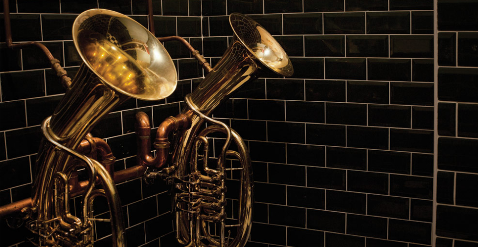 wesort :     The Bell in Ticehurst ~ Tuba urinals! ~ Apparently I'm being wisked away here for my b-day     TheBellInTicehurst.com
