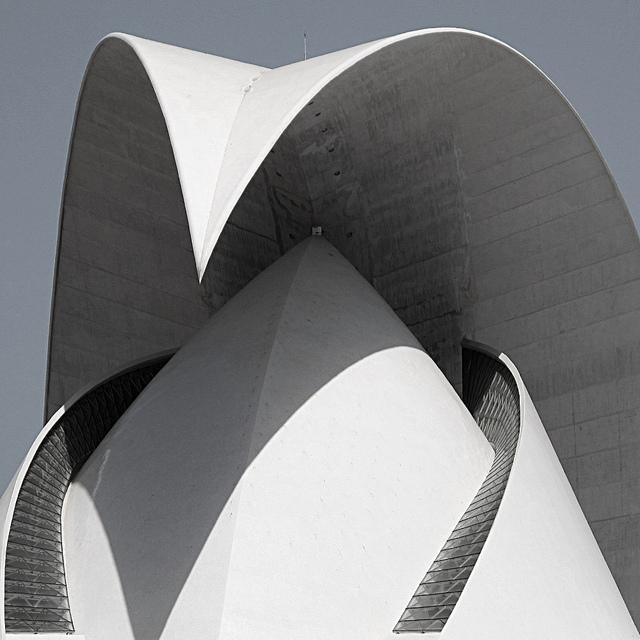oxane: stemerk44 Auditorio Santa Cruz de Tenerife Arquitecto Santiago Calatrava