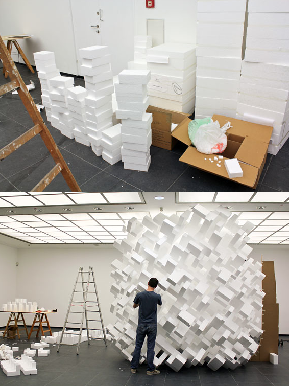 szymon: John Powers' abstract sculptures