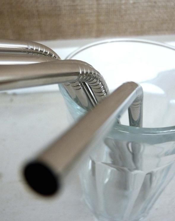 szymon :     stainless  steel straws