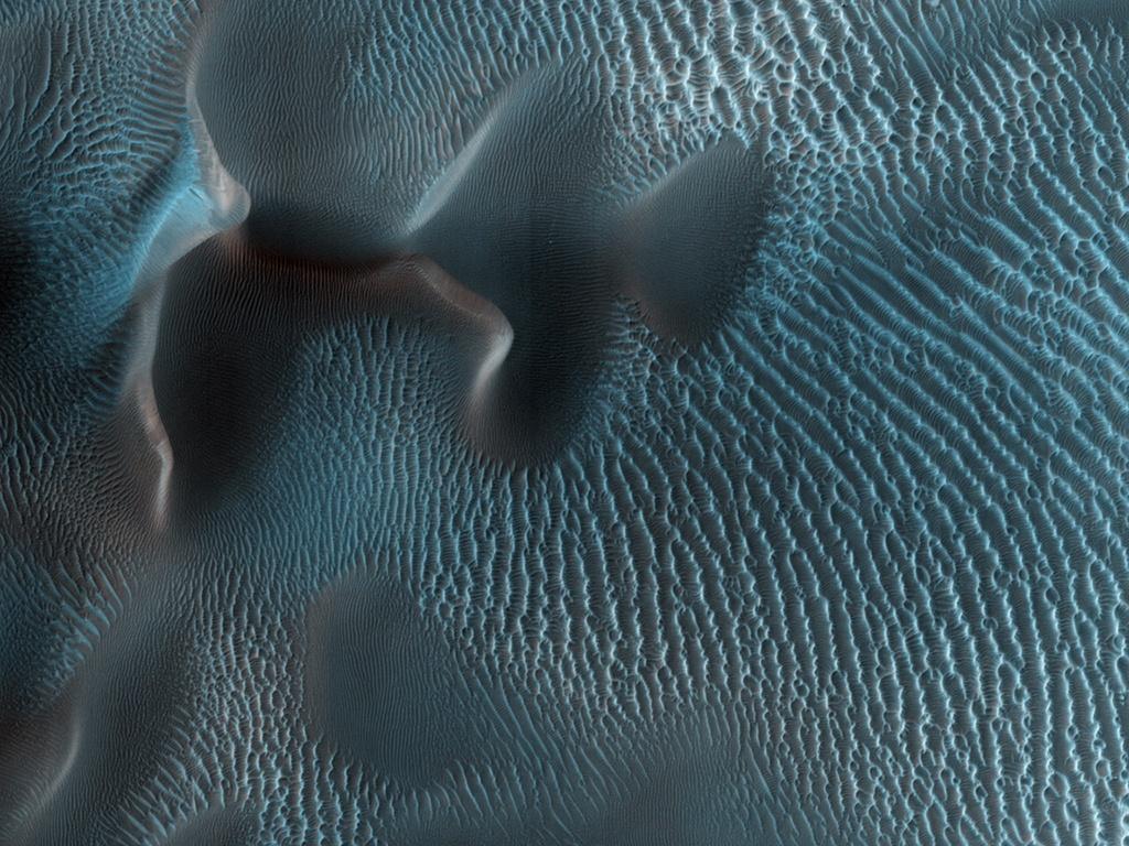 metaconscious :     Mysterious Martian  dunes .