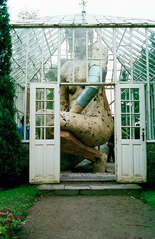 "snowce :     Documentation of the installation  ""I Drivhuset"" by Susanne Ussing, installed at Ordrupgaardsamlingen 1980.   Galleri Tom Chrstoffersen (fave)"