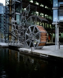 I want to work for this man! architectureandarts: Rolling Bridge designed by Thomas Heatherwick. Photo by Cristobal Palma.