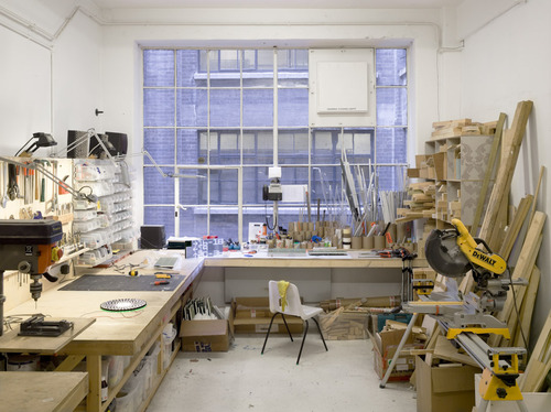 I'd love to get stuck into some making in this room but I fear it's a little too tidy!    workspaces :     [ If anyone knows the source/photographer, please hit me up. Thanks. ]