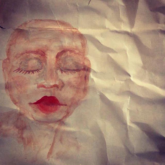 """""""Survivor: life rearranged"""" #survivor #watercolor  #cancersurvivor #icreate #drawinginwardarts #liferearranged"""